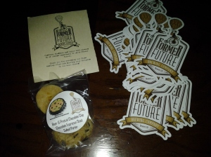 Cookies made with Former Future's beer, by The Cookie Brewer