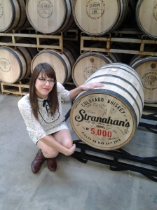 Me with Stranahan's Barrel No. 5000!