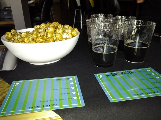 Salty Caramel Popcorn and Upslope's Foreign Style Stout