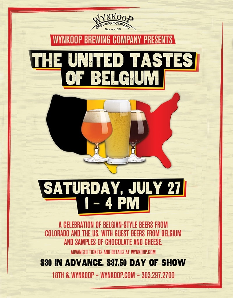 United Tastes of Belgium poster jpeg, 2013