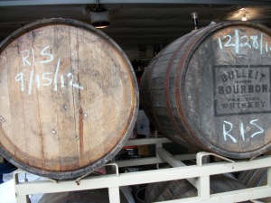What's the plan for these bourbon barrels...?