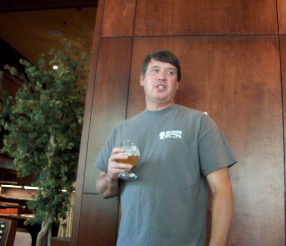Breckenridge Brewery's J. Todd Usry, discussing the pairings