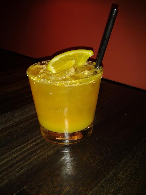 T & T: Tequila, lime, Tang, & orange soda