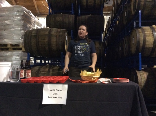 Kim Collins, brewer at Epic Brewing