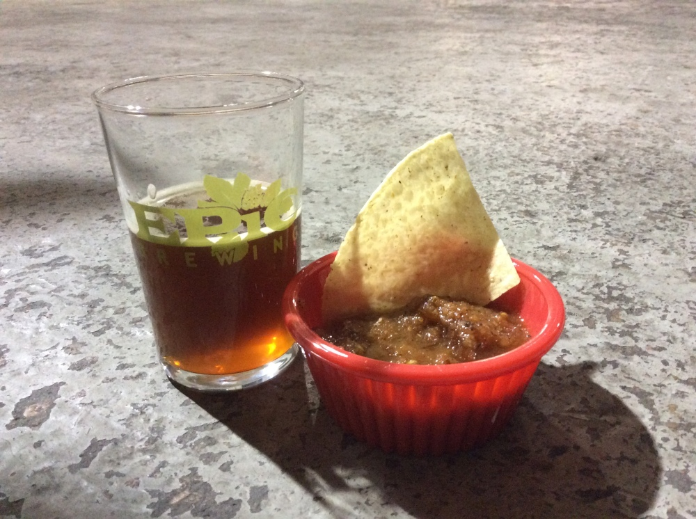 House Salsa and Imperial Red Ale