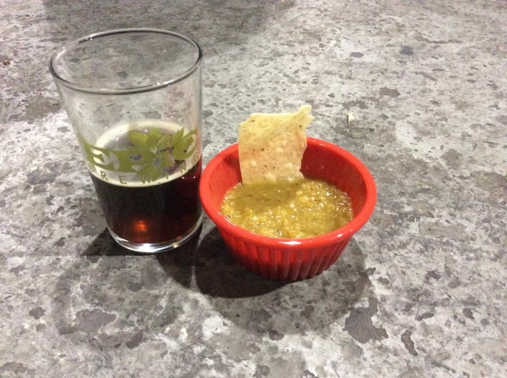 Jalapeno Salsa and Smoked Porter