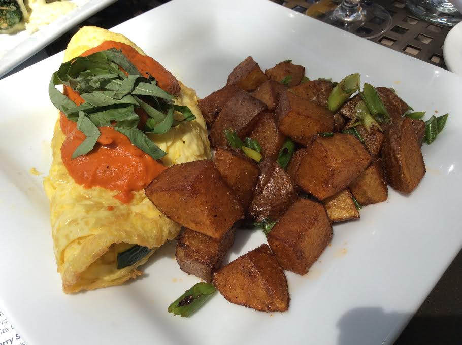 The omelet of the day