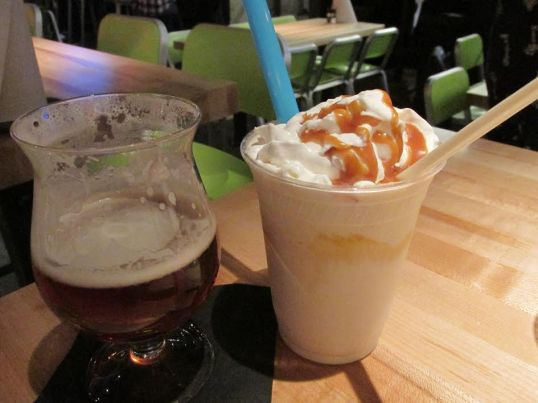 Caramel & Sea Salt Shake