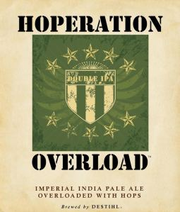 Hoperation Overload: A delicious Imperial IPA.