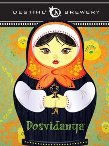 Dosvidanya Russian-Style Extra Imperial Stout