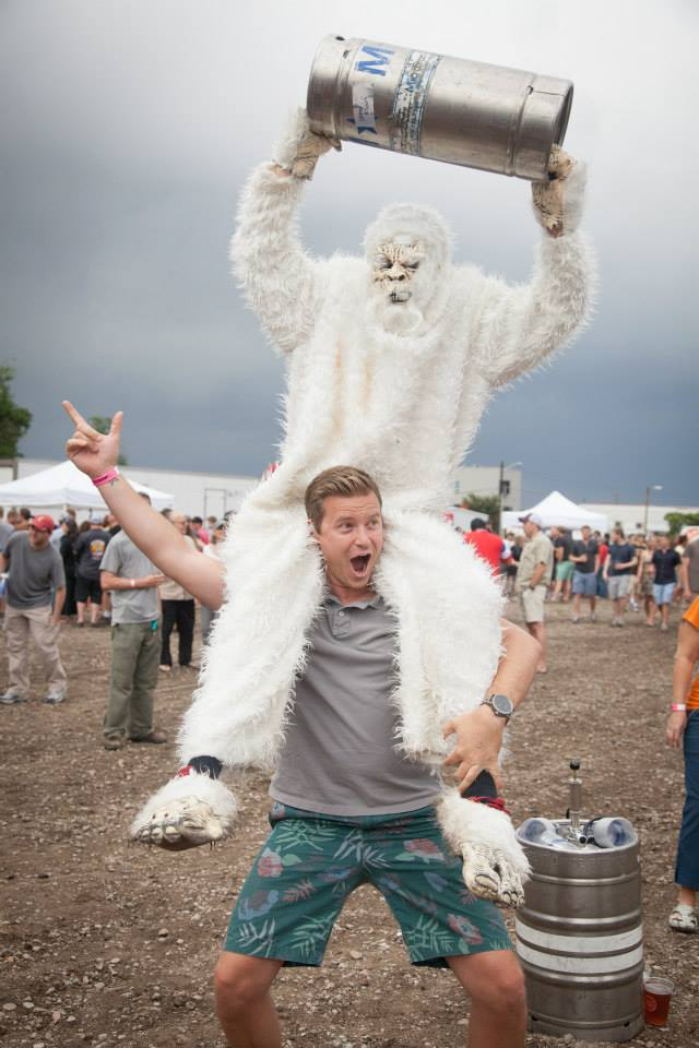 Don't miss your chance to see a Yeti up close and personal!