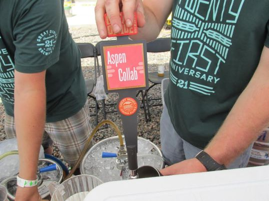 One of the many sours at this year's event.