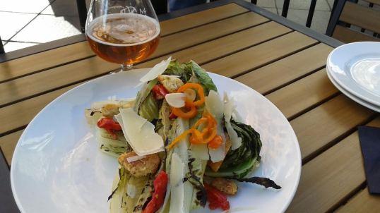Grilled Whole Romaine Caesar Salad