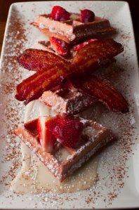 del-friscos-grille-red-velvet-belgian-waffle-2