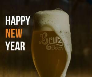 happy new year 1st beer free at bruz beers 3 10pm