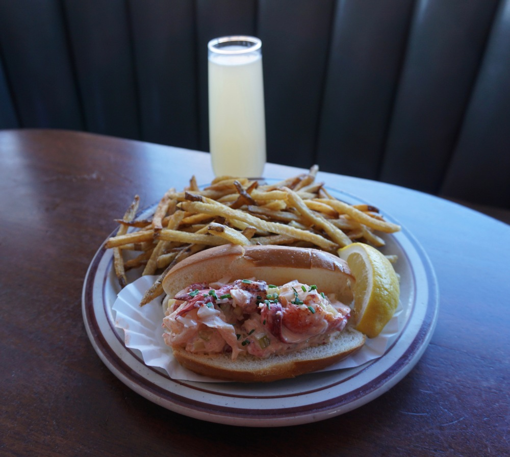 Lobster Roll, Steubens, mimosa, Arvada, Colorado